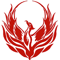 Logo of Phoenix in Red